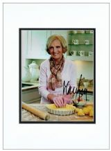 Mary Berry Autograph Signed Photo